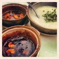 Photo taken at Win Yin Porridge by Esther M. on 8/14/2012
