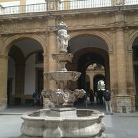 Photo taken at Patio de la fuente Rectorado by Ainhoaeus D. on 6/25/2012