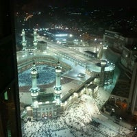 Photo taken at Raffles Makkah Palace by Nik Damia on 3/18/2012
