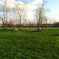 Photo taken at Ella & Friends (Deer Park) Dog Park by Bridget J. on 2/12/2012