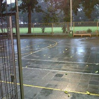Photo taken at Lapangan Basket Realino by R Pandhu N. on 5/5/2012