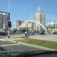 Photo taken at Station Rotterdam Blaak by esther m. on 7/26/2012