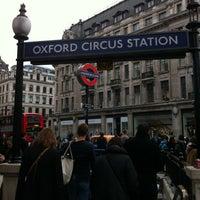 Photo taken at Oxford Circus London Underground Station by Latif on 3/6/2012