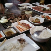 Photo taken at Wharo Korean BBQ by Carmen V. on 8/22/2012
