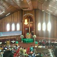 Photo taken at HKBP BALIKPAPAN Gunung Malang by andre h. on 8/19/2012