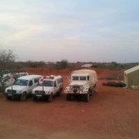 Photo taken at Kenya Red Cross Dadaab base camp by Philip O. on 2/28/2012