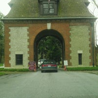 Photo taken at Biltmore Estate Main Gate by Keith D. on 3/8/2012