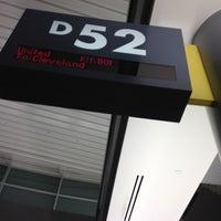 Photo taken at Gate D52 by Haerim L. on 6/14/2012