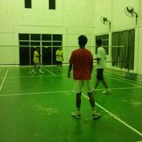 Photo taken at Arena Badminton, ST JOHN by Alam ramadan S. on 2/19/2012