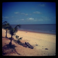 Photo taken at Praia do Chapéu Virado by Felipe on 9/8/2012