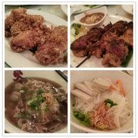 Photo taken at Café Locomotive 火車頭越南餐室 by Ellie M. on 7/20/2012