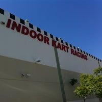 Photo taken at Fast Lap Indoor Kart Racing by Micah J. on 7/27/2012