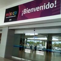 Photo taken at Aeropuerto Internacional de Mérida Manuel Crecencio Rejón (MID) by Cecy H. on 7/19/2012