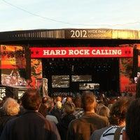 Photo taken at Hard Rock Calling by Emily H. on 7/15/2012