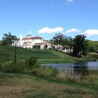 Photo taken at Congressional Country Club by Kristen on 9/9/2012