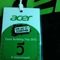 Photo taken at Acer Computer by Wee K. on 8/24/2012