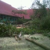 Photo taken at SMA Negeri 1 Pekanbaru by Azka N. on 8/22/2012