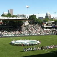 Photo taken at Providence Park by Steven G. on 8/6/2012