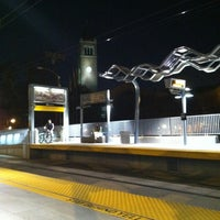 Photo taken at Expo Park/USC Metro Station by Marco R. on 8/21/2012