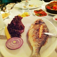 Photo taken at Mavra Restaurant by Fırat on 4/21/2012