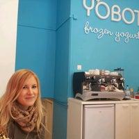 Photo taken at Yobot Frozen Yogurt by Harri S. on 4/15/2012