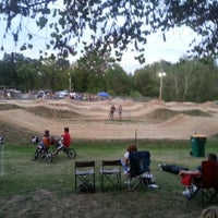 Photo taken at St Peters BMX Track by George V. on 8/25/2012