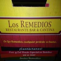 Photo taken at La Cantina de los Remedios by Trinidad D. on 3/24/2012