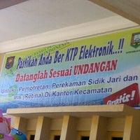 Photo taken at Kantor Kecamatan Bergas by Bayu A. on 5/5/2012