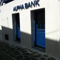 Photo taken at Alpha Bank by L. D. on 9/1/2012