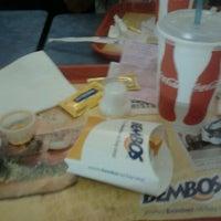 Photo taken at Bembos by Juan José C. on 3/18/2012