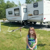 Photo taken at Flat Rock Campground by Kim S. on 6/20/2012
