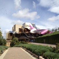 Photo taken at Hotel Marqués de Riscal by Jordi D. on 8/31/2012