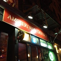 Photo taken at Amsterdam Tavern by Nicolas G. on 6/30/2012