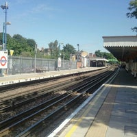 Photo taken at South Woodford London Underground Station by Kritt N. on 6/26/2012