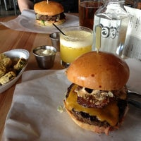 Photo taken at 8oz Burger Bar by Angel S. on 3/11/2012