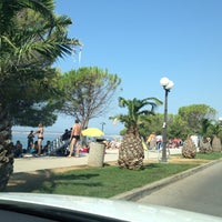 Photo taken at Crikvenica by Vlasta V. on 8/24/2012