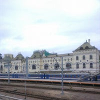 Photo taken at Vladivostok Railway Station by Aleksandr V. on 8/25/2012