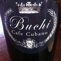 Photo taken at Buchi Cafe Cubano by Koko B. on 3/8/2012