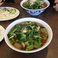 Photo taken at Lucky's Pho by Eric L. on 3/23/2012