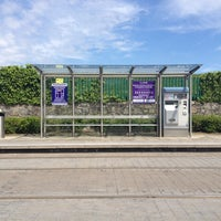 Photo taken at Stillorgan Luas by Juli ana A. on 6/10/2012