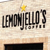 Photo taken at Lemonjello's Coffee by Mary on 6/23/2012