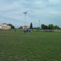 Photo taken at Campo allenamento Persiceto Rugby e Knights by Michele S. on 5/9/2012