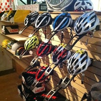 Photo taken at Joe's Bike Shop by Pam M. on 7/2/2012
