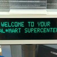 Photo taken at Walmart Supercenter by π on 8/30/2012