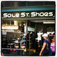 Photo taken at Sole St. Shoes by Timbo J. on 8/8/2012