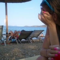Photo taken at Navagos Beach Bar Reloaded by Dimitrios E. on 8/19/2012