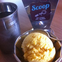 Photo taken at Scoop ice cream by Koi K. on 3/19/2012