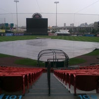 Photo taken at Coca-Cola Field by Daniel F. on 8/14/2012