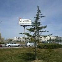 Photo taken at Universidad Rey Juan Carlos (Campus Fuenlabrada) by Concha L. on 3/8/2012