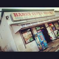Photo taken at Hank's Super Market by Glenn M. on 5/27/2012
